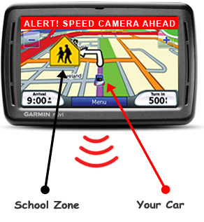 Use your Garmin GPS to avoid traffic tickets  Download